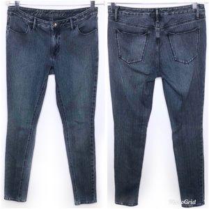 Madewell Skinny Stretch Denim Jeans Blue Size 6